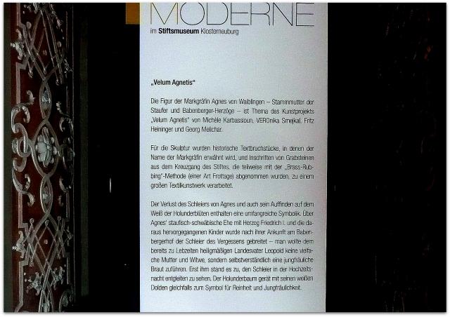 Agnes in der Galerie der Moderne  St. Klosterneuburg