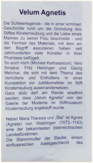 Presse 2016 -AGNES- Galerie der Modern  St.Klosterneuburg