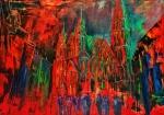 - Wiener Blut - Acryl Leinen 90/70