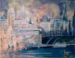 Beim Donaukanal 90/70 L. Acryl